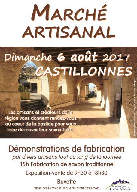 Marché Artisanal, Castillonnès (47)