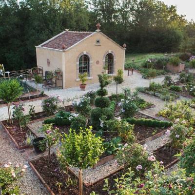 Jardin de la chartreuse du colombier
