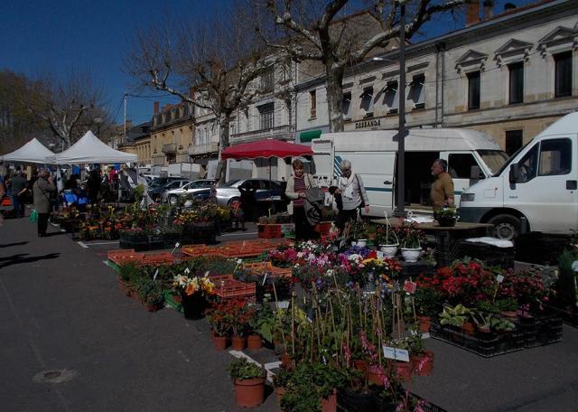 Marche fleurs bergerac
