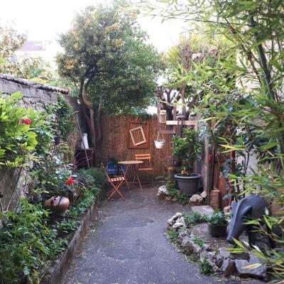Cahors juin jardin